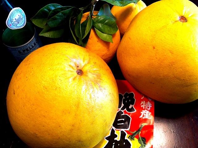 大きな果物「ばんぺいゆ」の食べ方って?絶品レシピ3選もご紹介♪