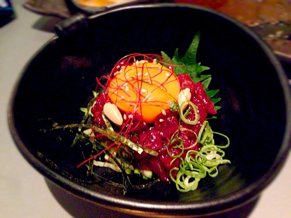 馬の生肉が食べられる!? 「桜ユッケ」の由来や食べ方が知りたい!の画像