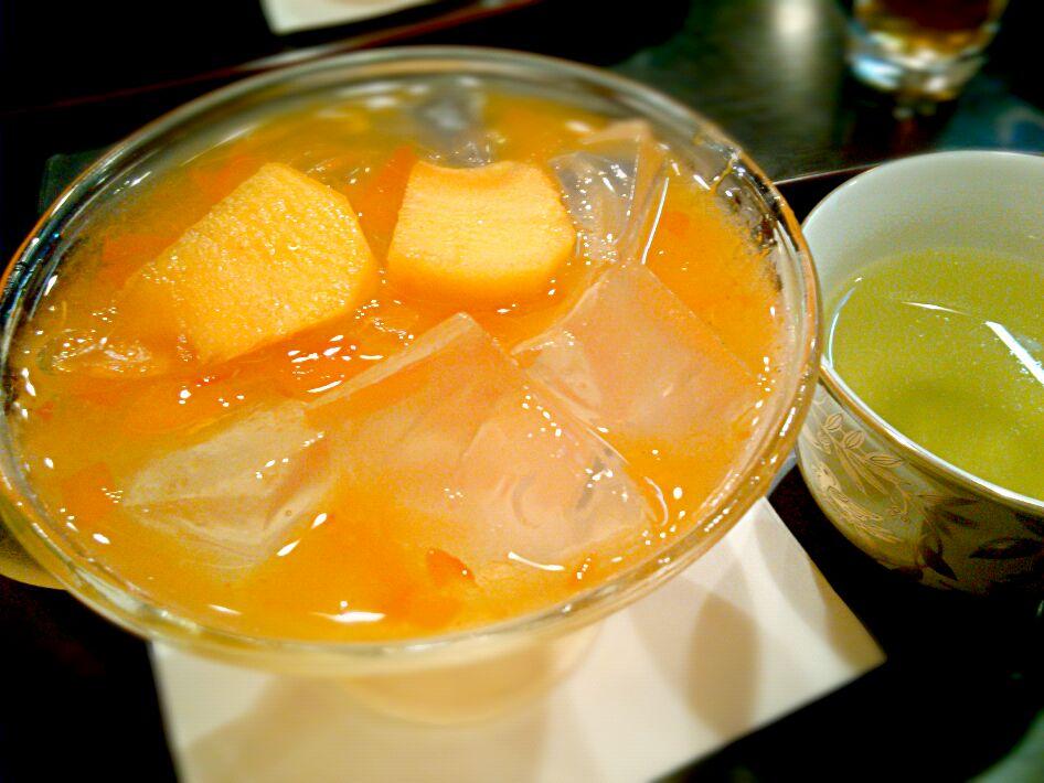 まるで食べる宝石♩京都「栖園」の『琥珀流し』で日本の四季を味わおう