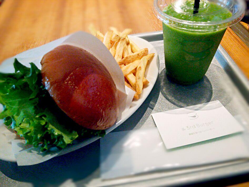 【東京】ダイエット女子必見★カロリーが気にならない・ノーミートヘルシーバーガー登場♪の画像