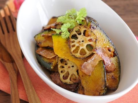 サラダにしても、煮ても焼いても。かぼちゃ×ベーコンのおすすめレシピ16選
