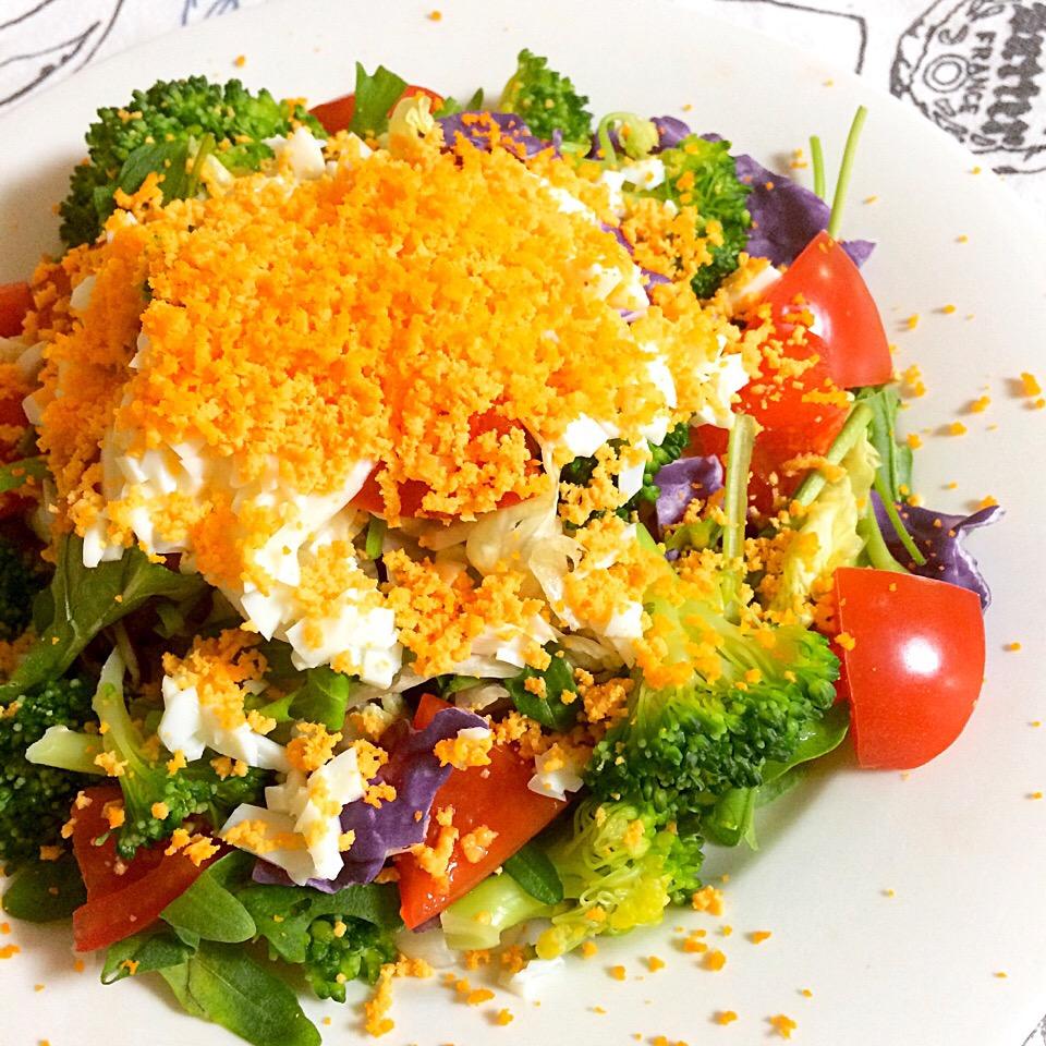食卓に花を咲かせよう♩色鮮やかな「ミモザサラダ」のアレンジレシピ15選