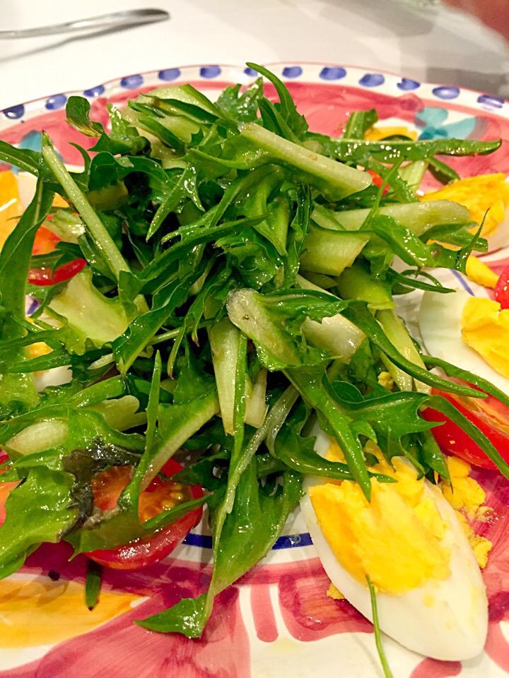 ローマっ子が愛する野菜「プンタレッラ」とは?独特の苦味と食感を楽しもうの画像