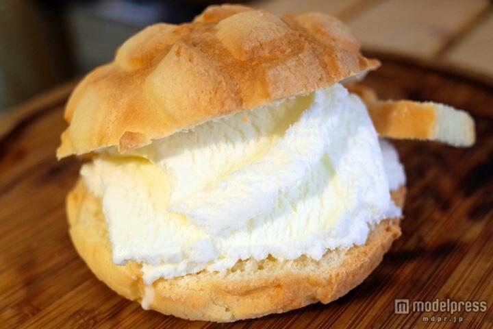 1番じゃないワケは?世界で2番めにおいしい焼きたてメロンパンアイスが人気♩の画像