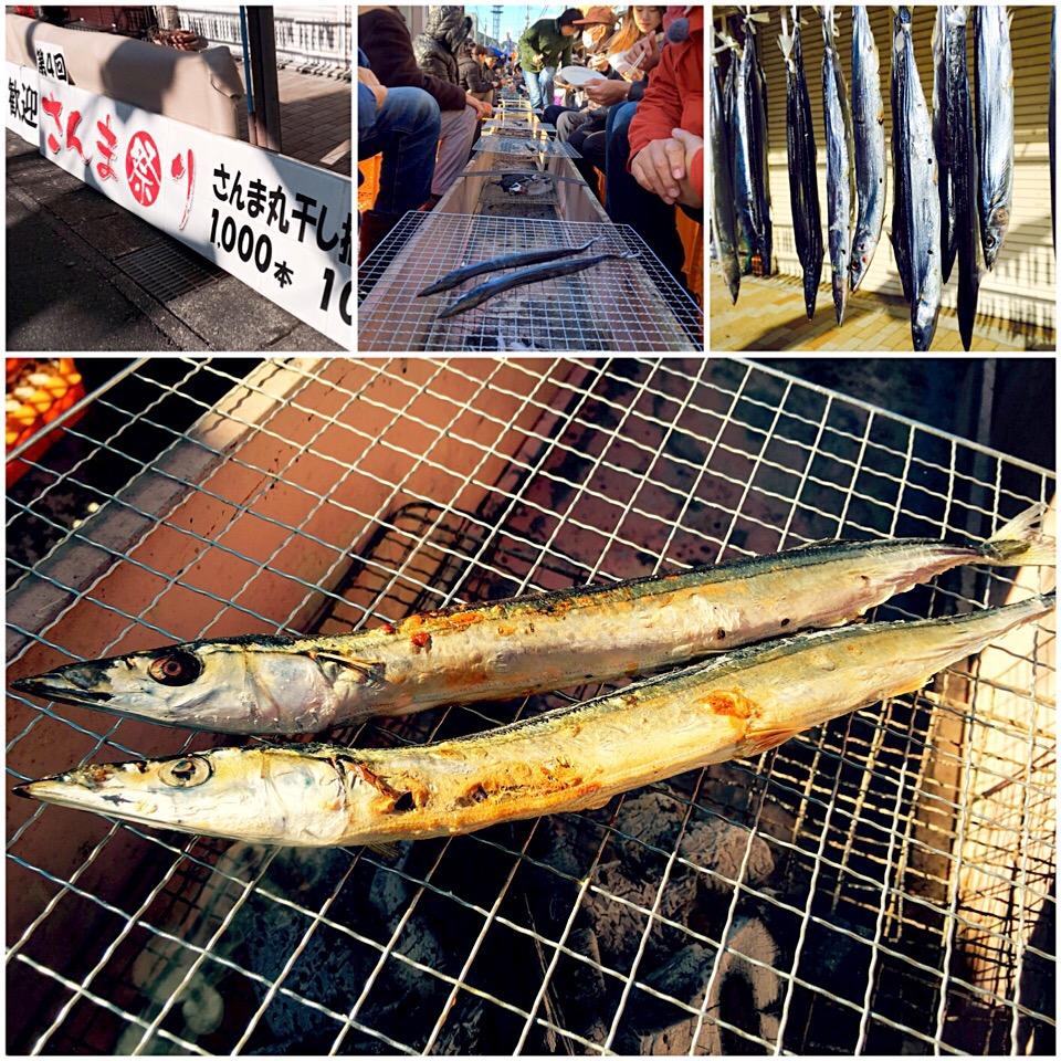 大漁祈願!2018全国の人気さんま祭り情報!特徴や開催日時までの画像