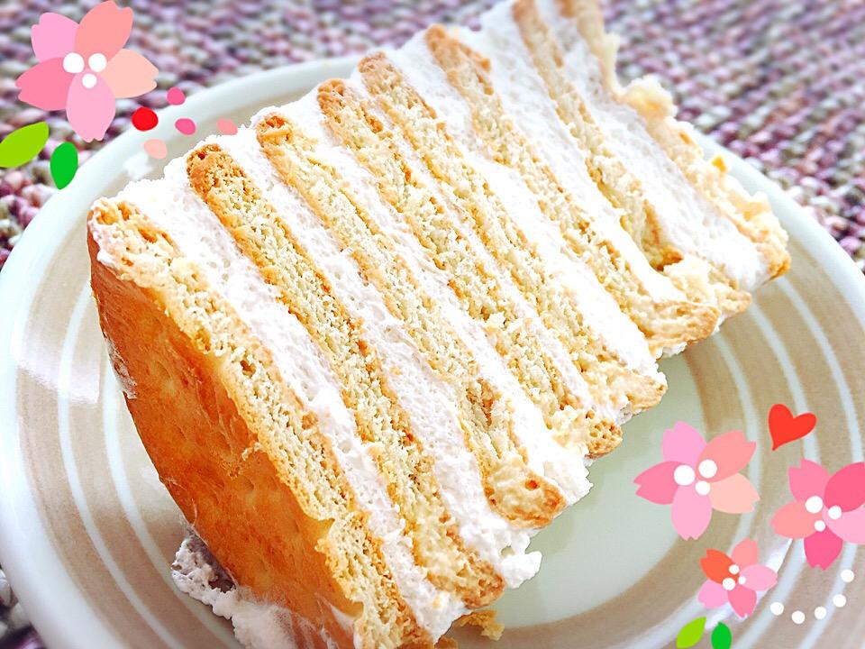アレンジ自在!超簡単なのにおいしい「黒柳徹子ケーキ」が気になる!