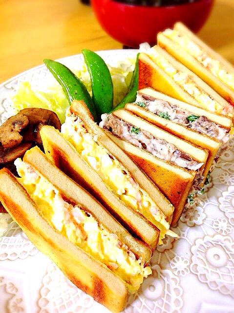 パンを使わずグルテンフリー!朝食は「高野豆腐サンド」でヘルシーに