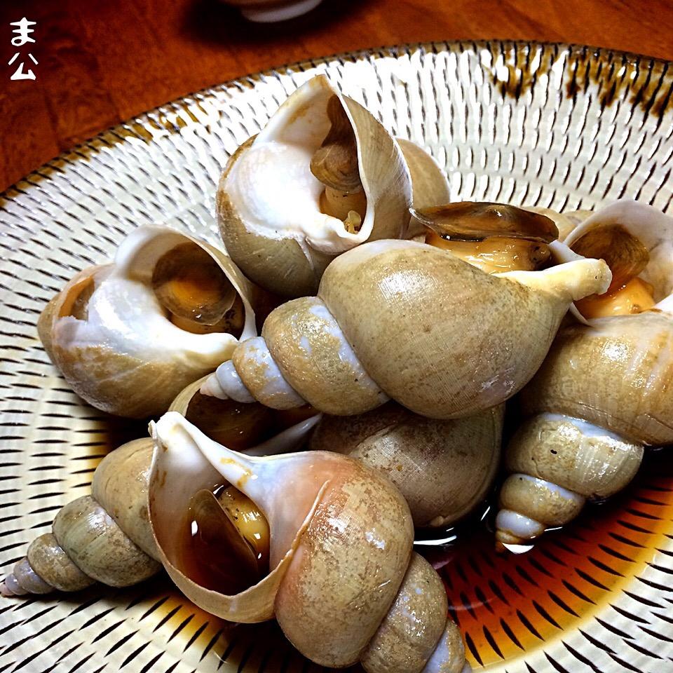 つぶ 貝 レシピ