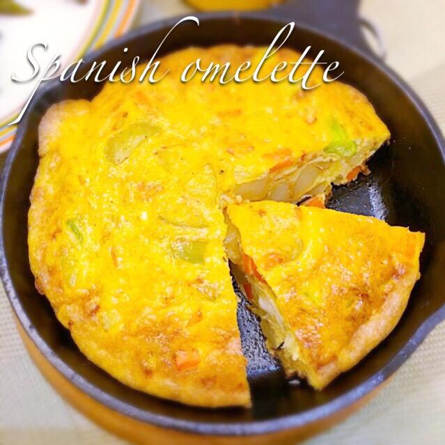 レシピ スペイン オムレツ