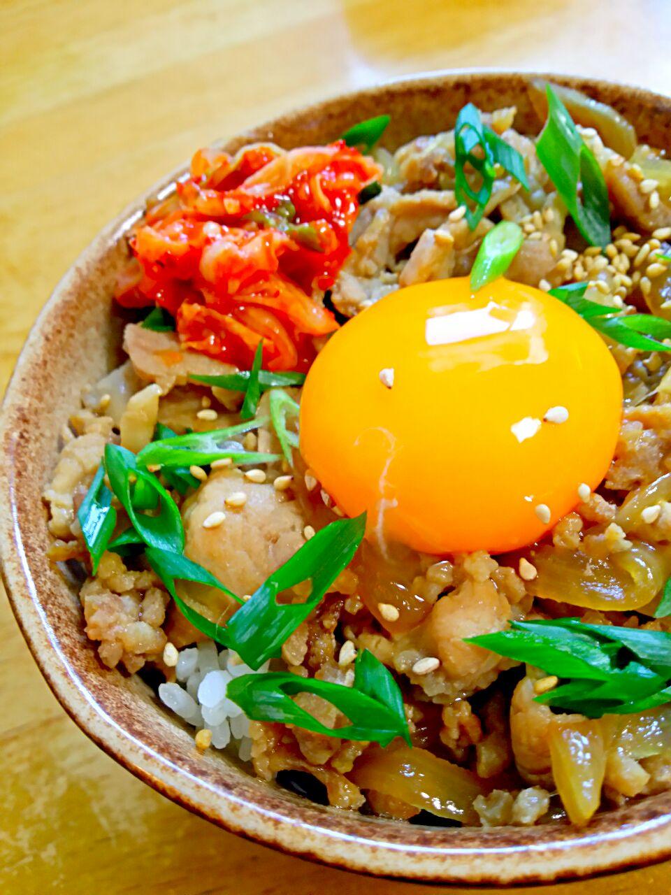 栄養バランス、気になる?豚丼と一緒に食べたい献立レシピ14選
