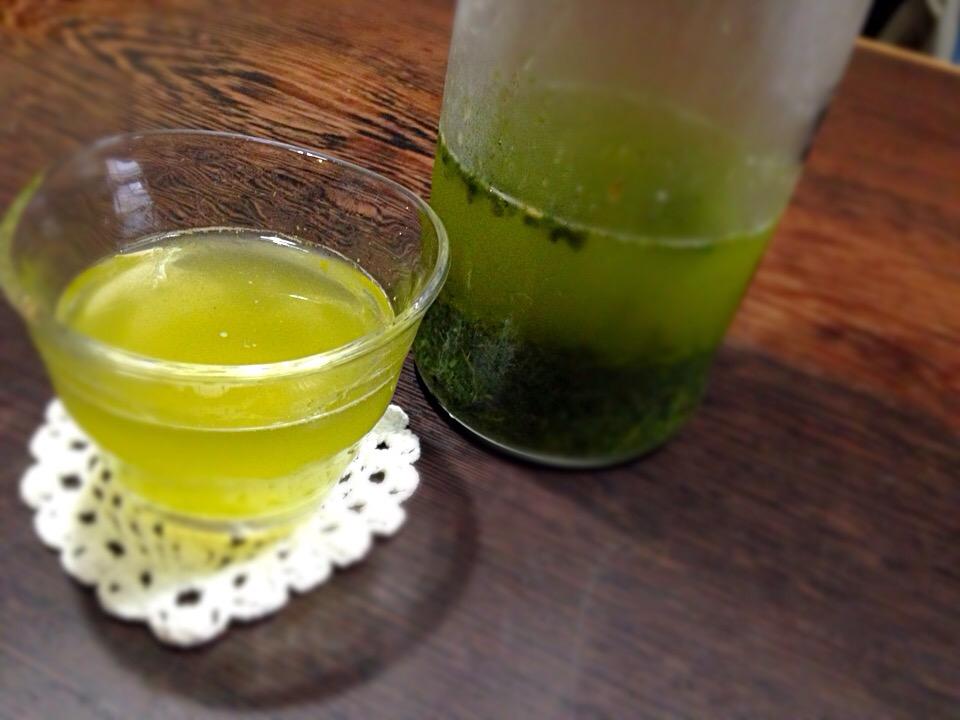 絶品「氷出し緑茶」の作り方。お茶の甘さを十二分に味わおう