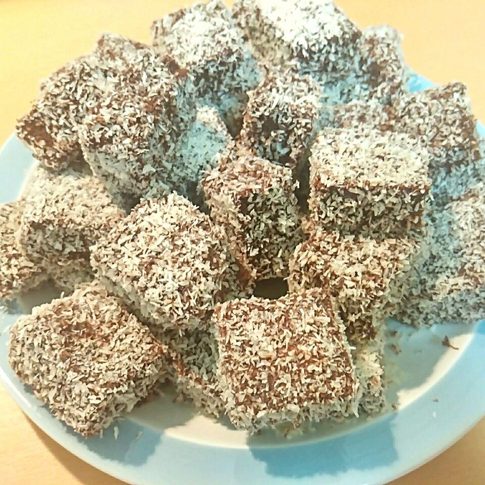 オーストラリアの愛されお菓子♪「ラミントン」を作ろうの画像