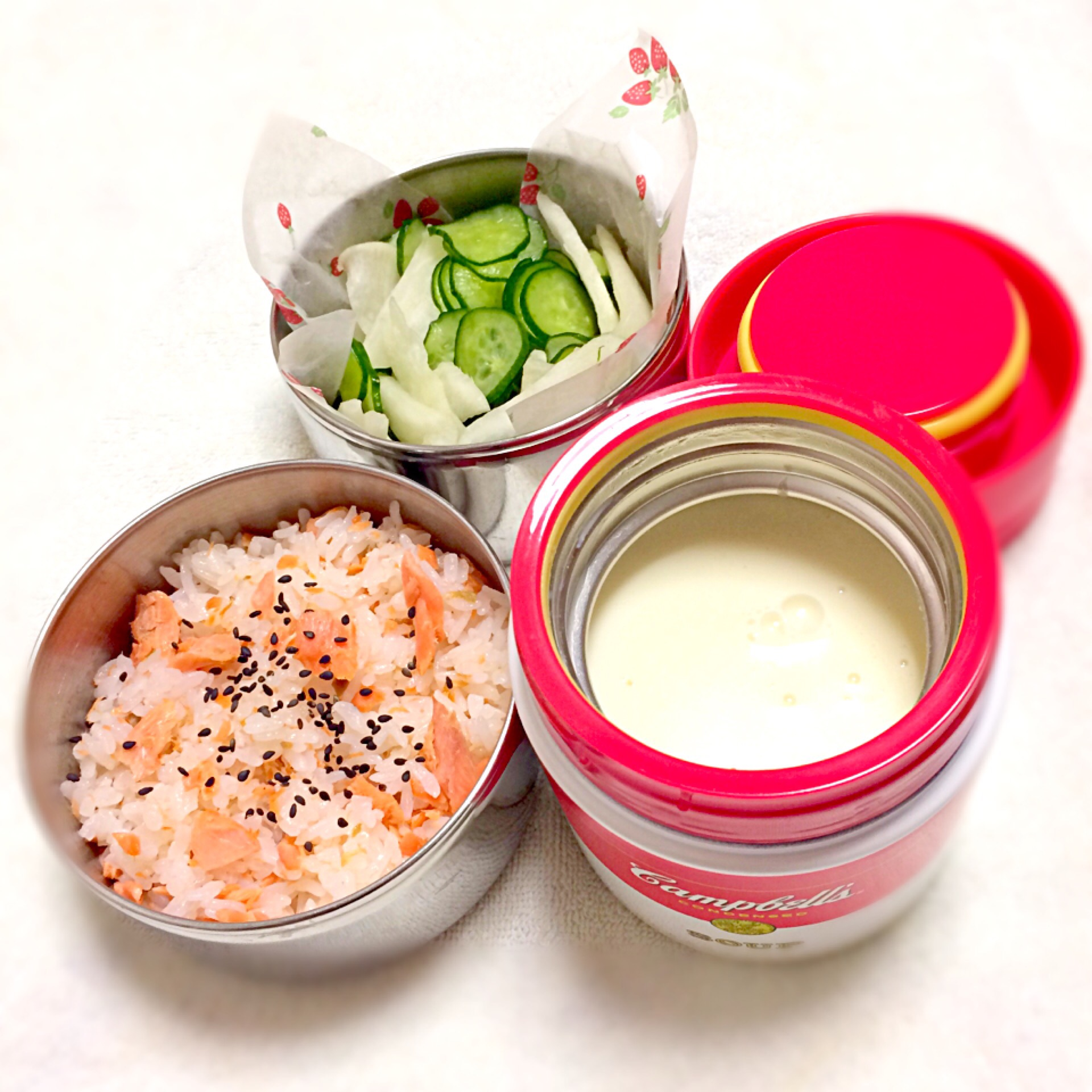 ランチを倍楽しく!スープジャーのお弁当おすすめレシピ9選