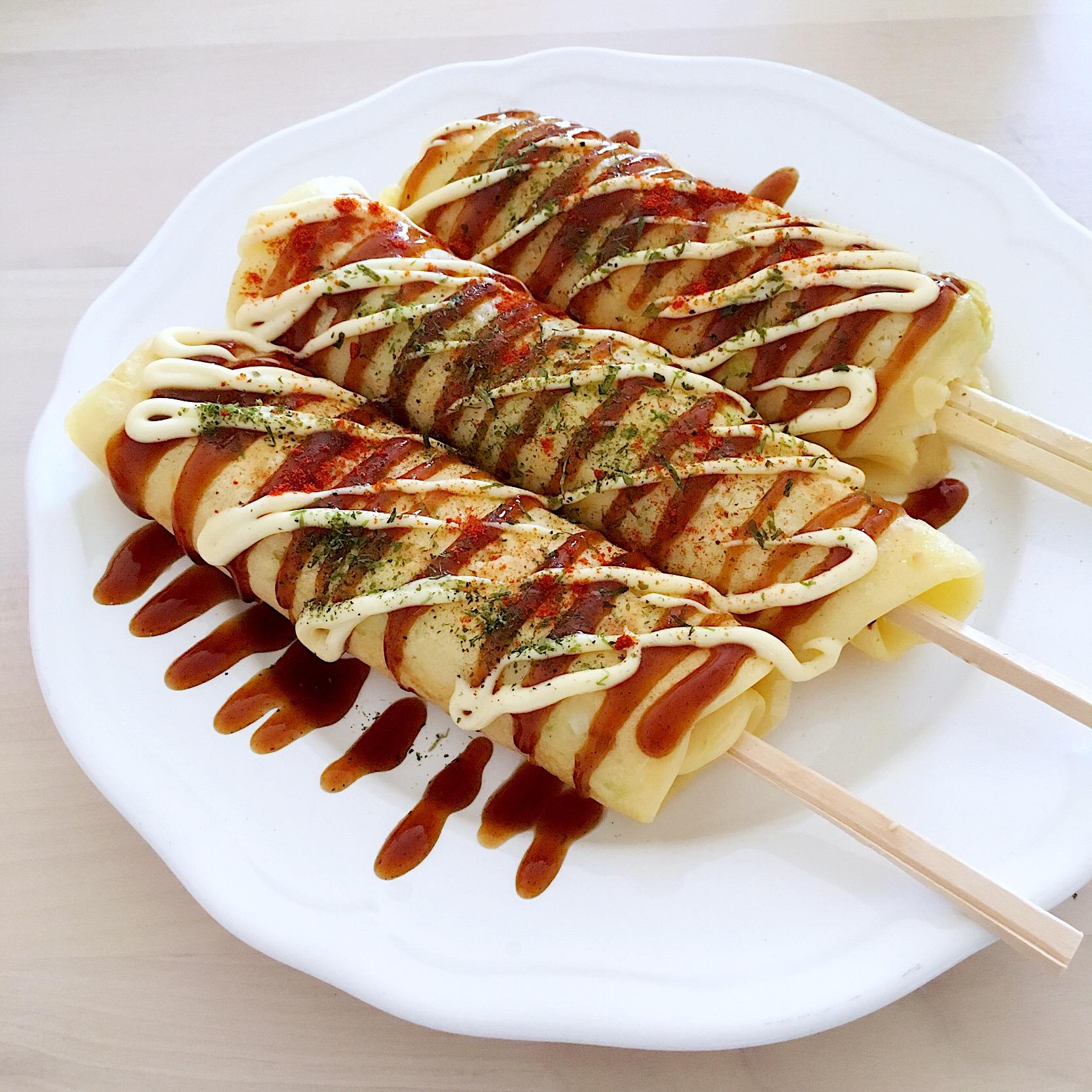 「はしまき」って知ってる?西日本の屋台料理と言ったらこれ!の画像