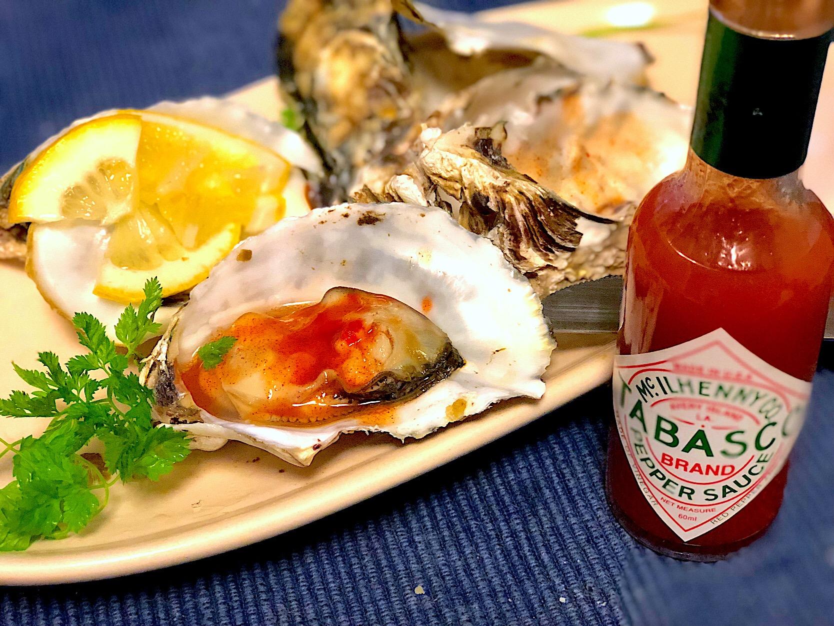 方 食べ 生 牡蠣