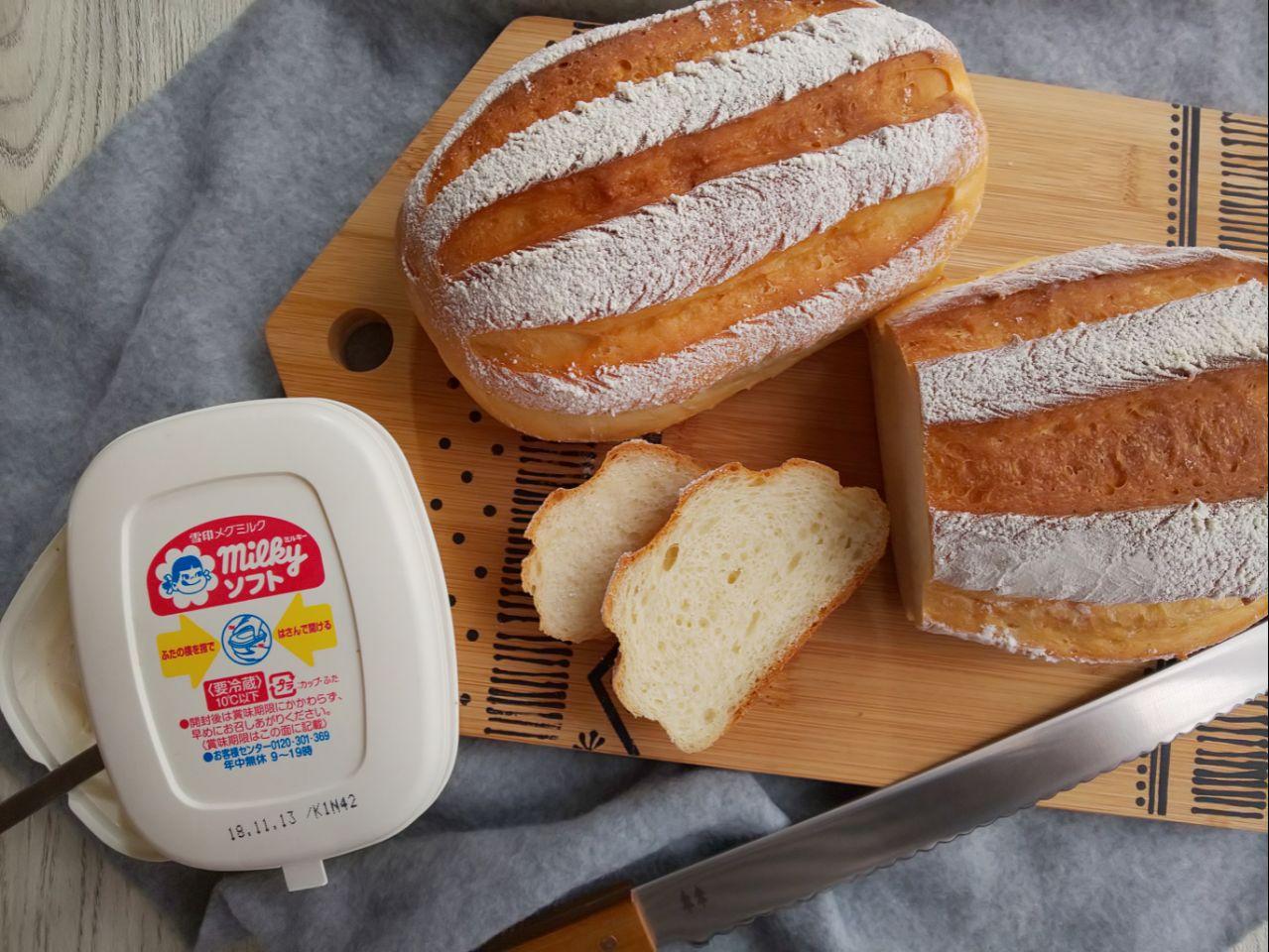 あの味を完全再現!? パンに塗る「ミルキーソフト」がおいしすぎるッ♪