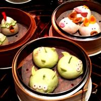 cartoon dim sum