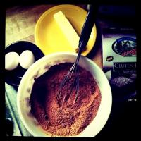 Gluten free Brownie assembly