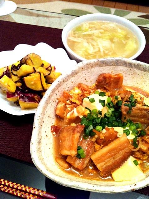 キャベツ 豚肉 スープ