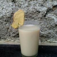 "Soybean ""Milk"" with Ginger Sensation"