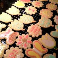 sugar cookies with icing♡