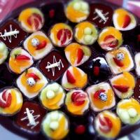 colorful puding ..