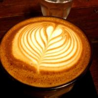 Latte art at Ristretto coffee in Chiangmai very good
