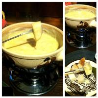 Cheese fondue 😋😋😋😁✨✨