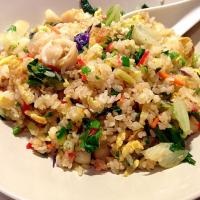 My seafood fried rice