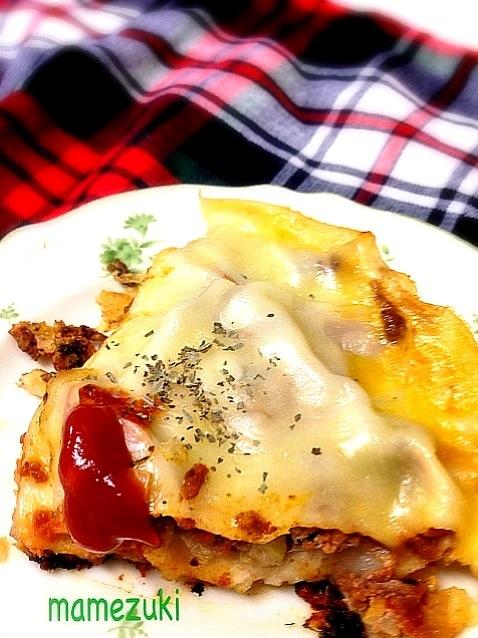 ラザニア レシピ フライパン