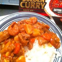 Beef& Shrimp Curry