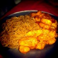 Sweet n' Sour Chicken & Spicy Thai Noodles