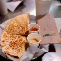 Chicken Quesadilla by Army Navy