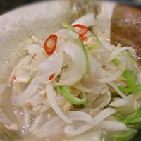 ラプラプのキラウィン Philippine style Ceviche of grouper