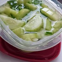 cucumber salad with jalapeno