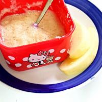 cream of wheat and apples