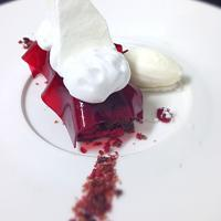 Raspberry Almond Chocolate Dessert