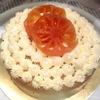 Bael fruit cake with cream cheese frosting