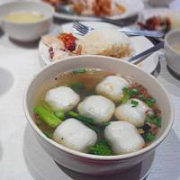 Steamed Fish Balls Soup