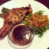 Pork chop & dumpling cooked in spicy soy sauce