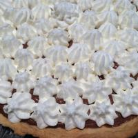 Tarte mousse chocolat et chantilly