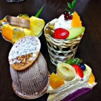 GIOTTO の ケーキ