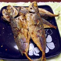 Fried aji