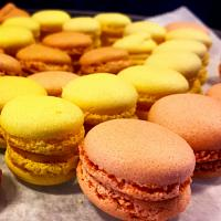 Mini French Macarons: Lemon and Pumpkin Spice
