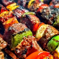 Grilled Steak Shish Kabob
