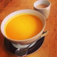 Pumpkin soup (w carrot)