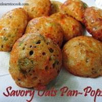 Savory Oats Pan-pops