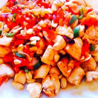 家常炒鸡 homestyle chicken stir-fry