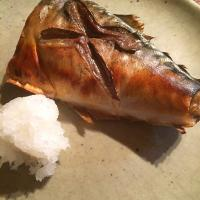 Saba shioyaki.. Salted mackerel