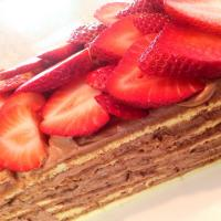 chocolate layer cake with strawberry ✴︎ 🍓チョコレートケーキ